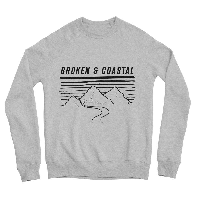 The Black Mountains Men's Sponge Fleece Sweatshirt by Broken & Coastal