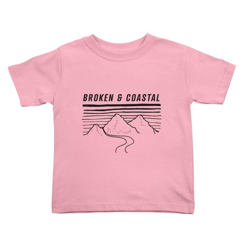 The Black Mountains Kids Toddler T-Shirt by Broken & Coastal