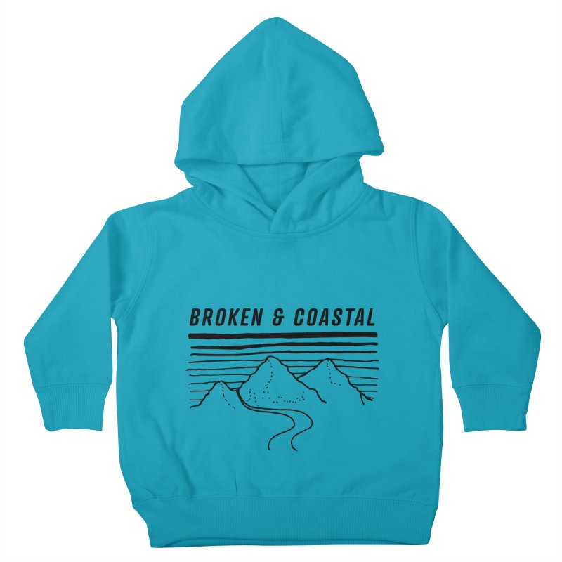 The Black Mountains Kids Toddler Pullover Hoody by Broken & Coastal