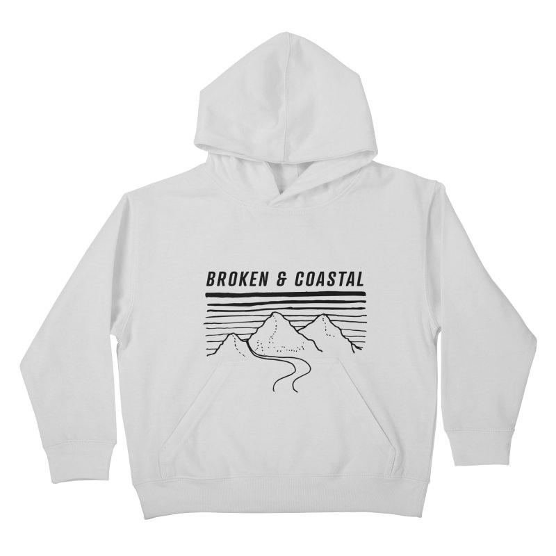 The Black Mountains Kids Pullover Hoody by Broken & Coastal