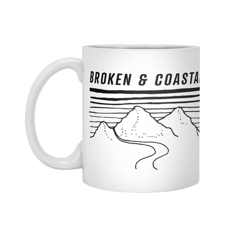 The Black Mountains Accessories Mug by Broken & Coastal