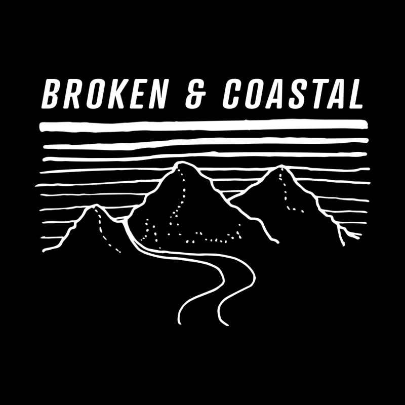 The White Mountains Women's T-Shirt by Broken & Coastal