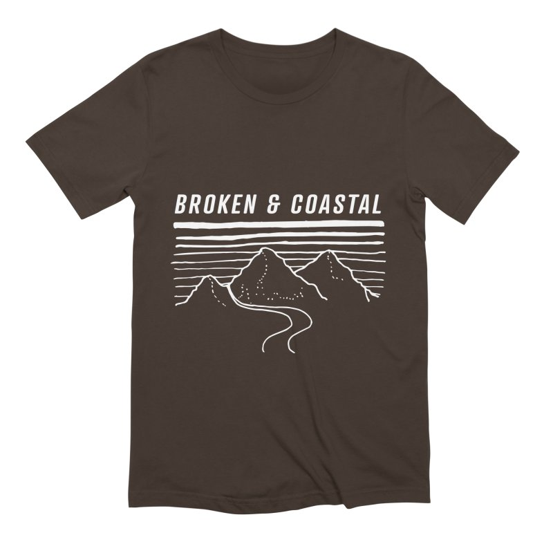 The White Mountains Men's Extra Soft T-Shirt by Broken & Coastal