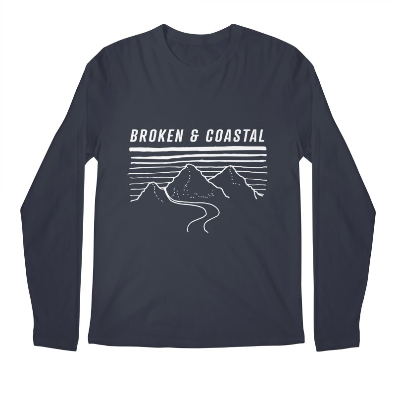 The White Mountains Men's Longsleeve T-Shirt by Broken & Coastal