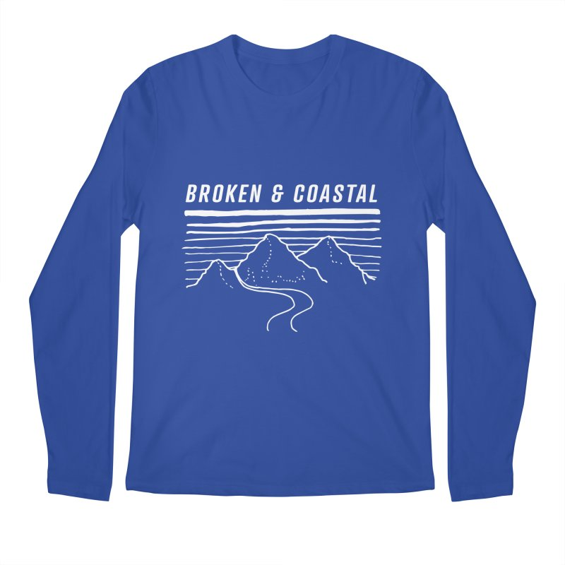 The White Mountains Men's Regular Longsleeve T-Shirt by Broken & Coastal