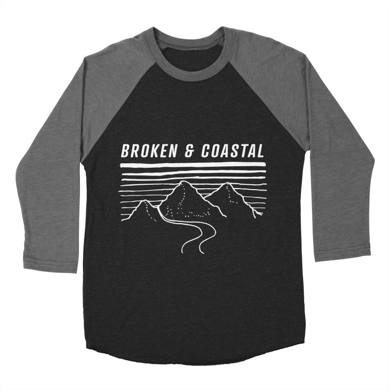 The White Mountains Women's Baseball Triblend Longsleeve T-Shirt by Broken & Coastal
