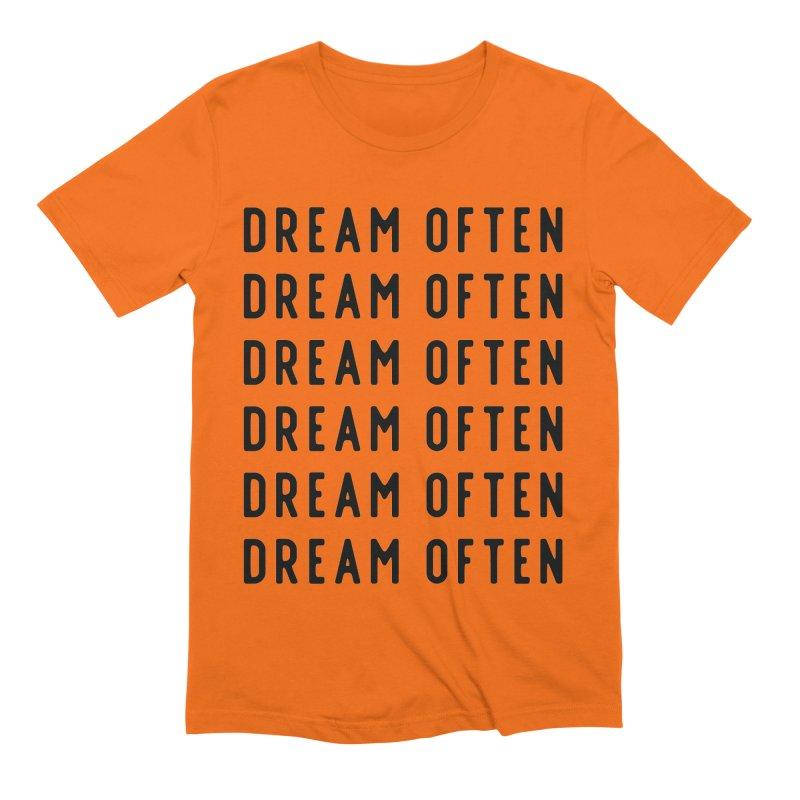 Dream Often Men's Extra Soft T-Shirt by Broken & Coastal