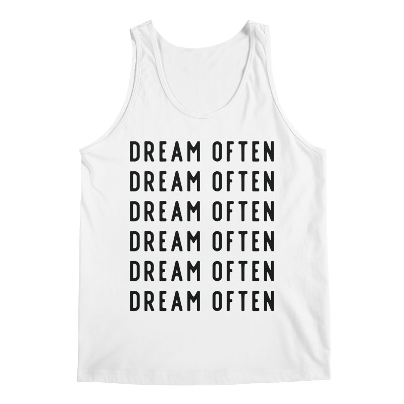Dream Often Men's Tank by Broken & Coastal