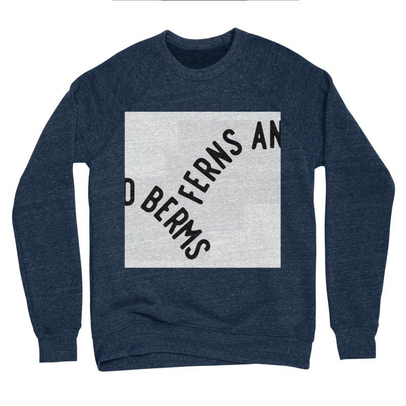 Ferns and Berms Block Women's Sweatshirt by Broken & Coastal