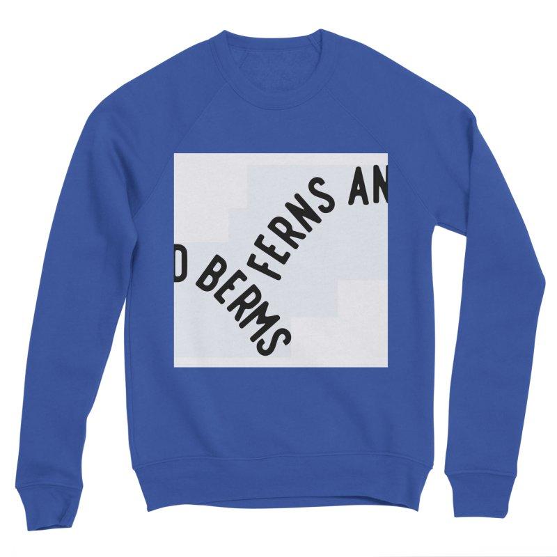 Ferns and Berms Block Men's Sweatshirt by Broken & Coastal