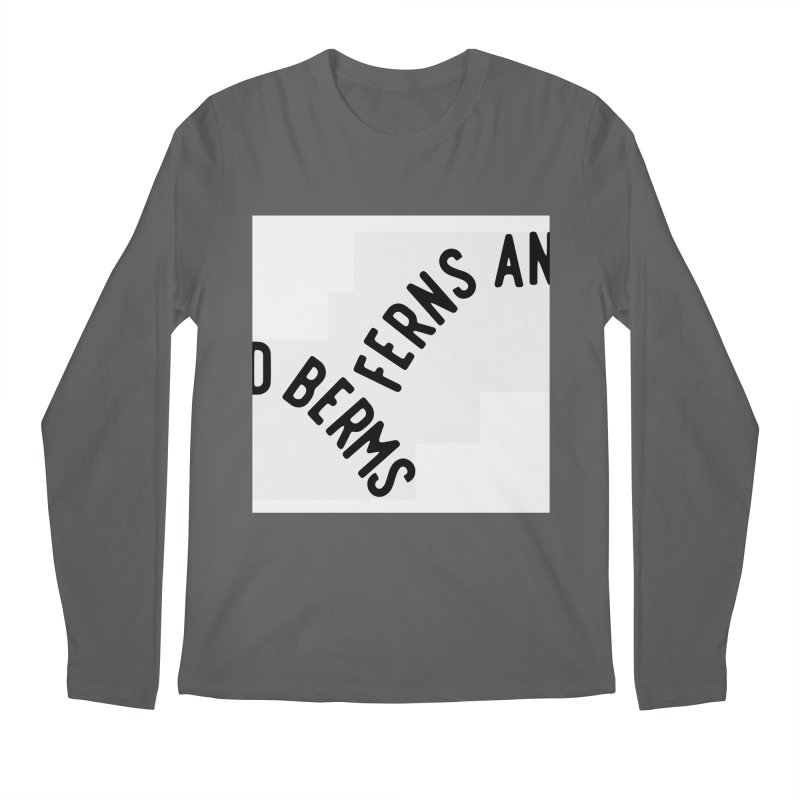 Ferns and Berms Block Men's Longsleeve T-Shirt by Broken & Coastal