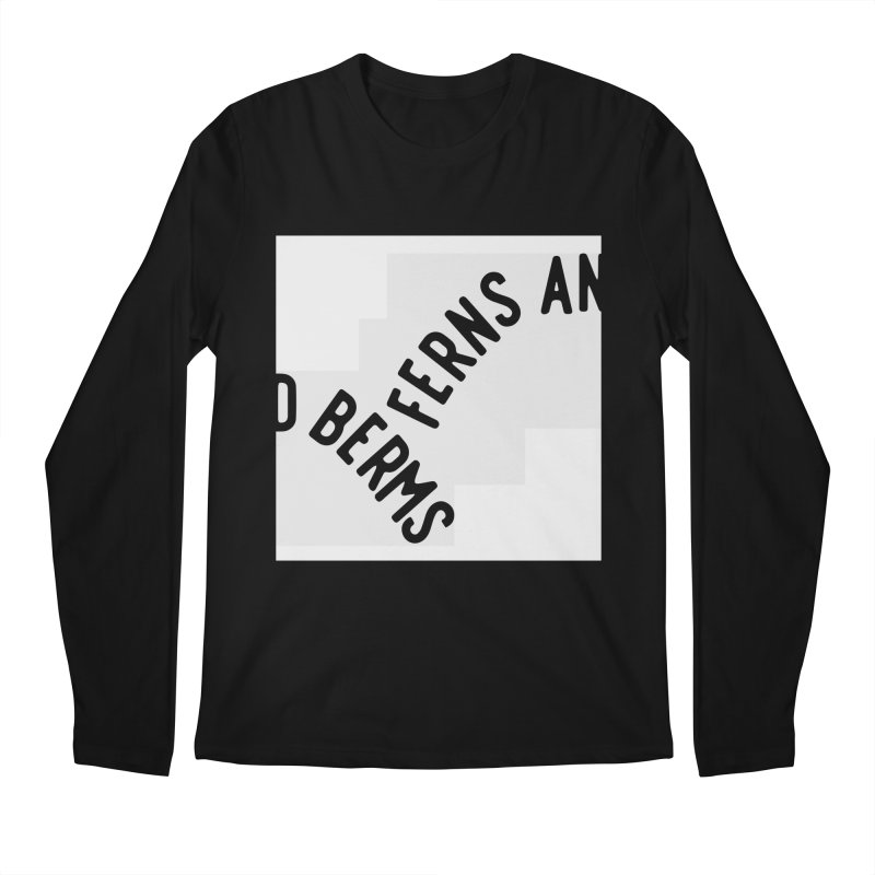 Ferns and Berms Block Men's Regular Longsleeve T-Shirt by Broken & Coastal