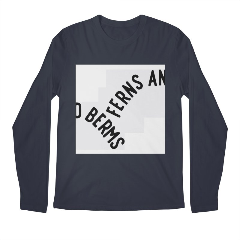 Ferns and Berms Block Men's Regular Longsleeve T-Shirt by Broken & Coastal