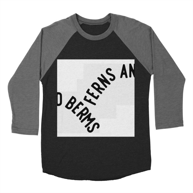 Ferns and Berms Block Men's Baseball Triblend Longsleeve T-Shirt by Broken & Coastal