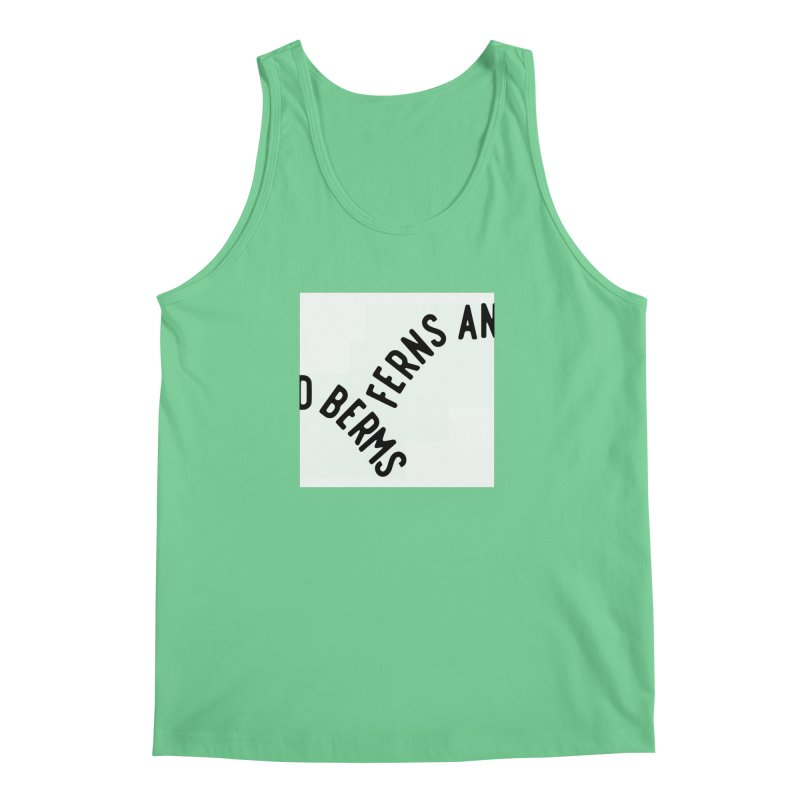 Ferns and Berms Block Men's Tank by Broken & Coastal
