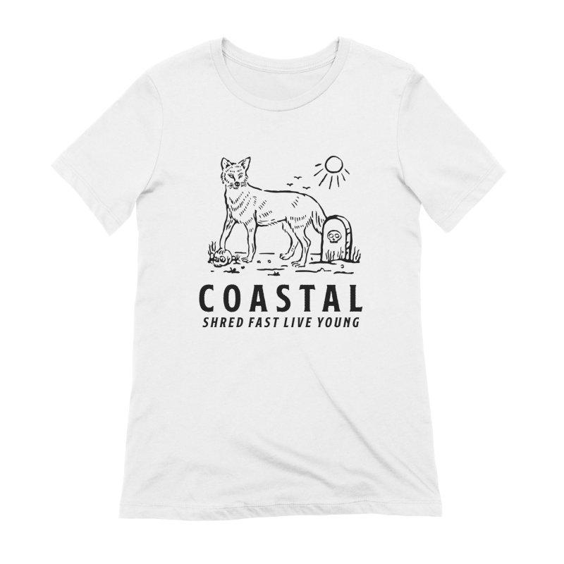 Coastal Fox Women's T-Shirt by Broken & Coastal