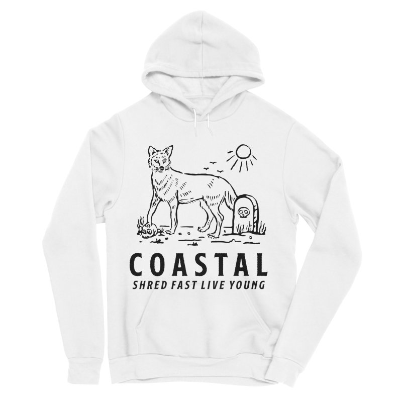 Coastal Fox Women's Pullover Hoody by Broken & Coastal