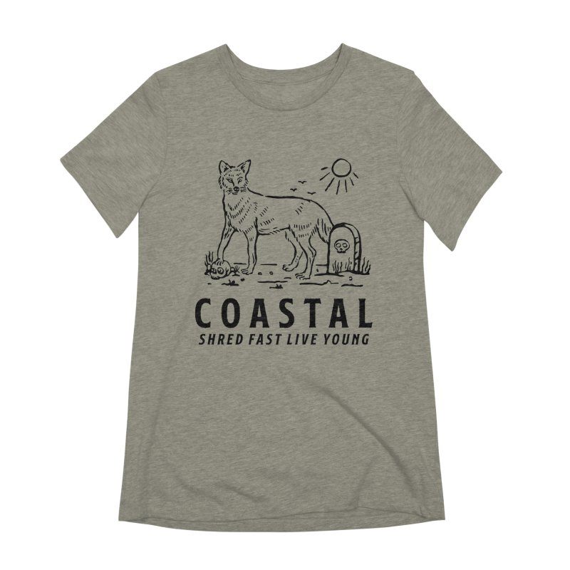 Coastal Fox Women's Extra Soft T-Shirt by Broken & Coastal