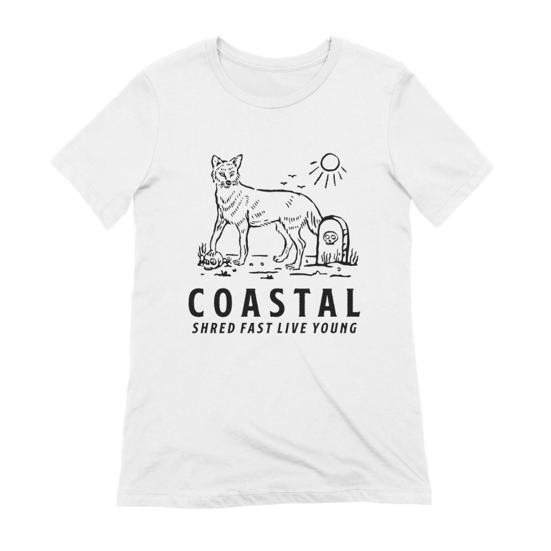 Coastal Fox Women's Extra Soft T-Shirt by Broken & Coastal