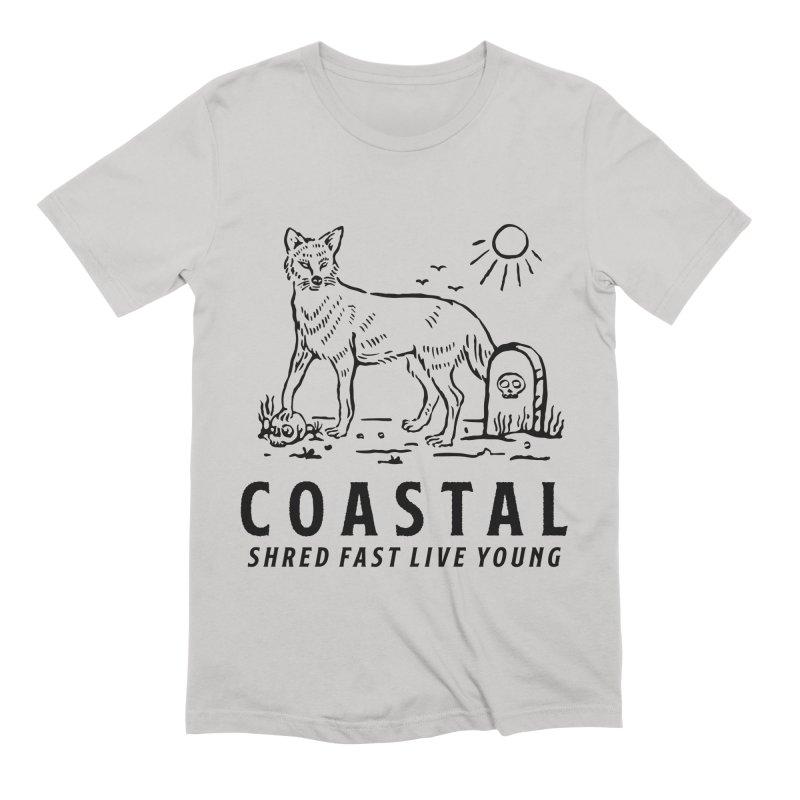 Coastal Fox Men's Extra Soft T-Shirt by Broken & Coastal