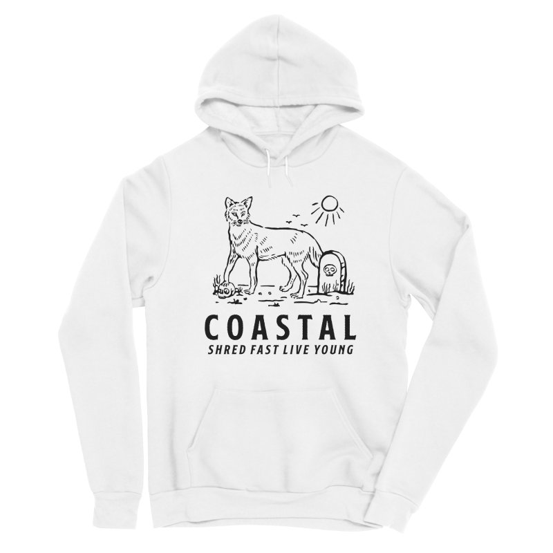 Coastal Fox Men's Sponge Fleece Pullover Hoody by Broken & Coastal
