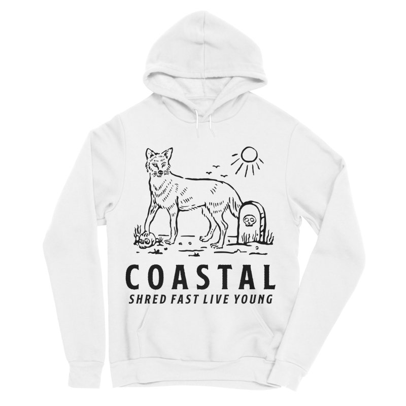 Coastal Fox Women's Sponge Fleece Pullover Hoody by Broken & Coastal