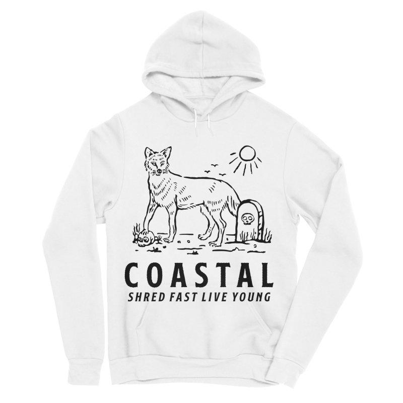 Coastal Fox Men's Sponge Fleece Pullover Hoody by Broken & Coastal
