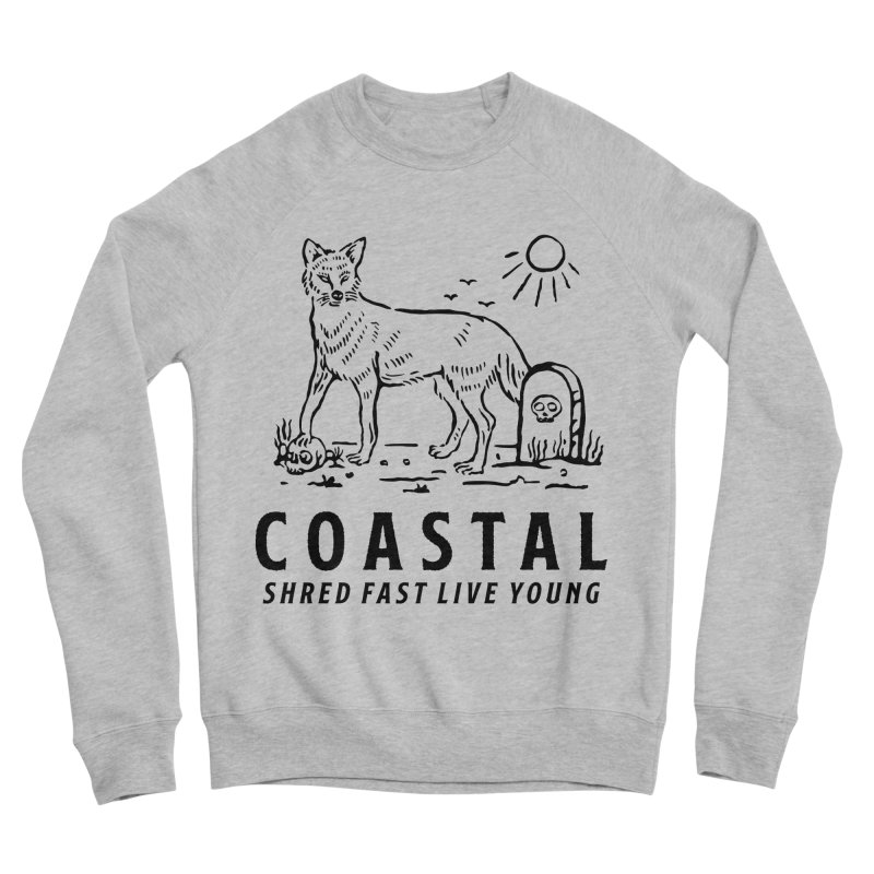Coastal Fox Women's Sponge Fleece Sweatshirt by Broken & Coastal