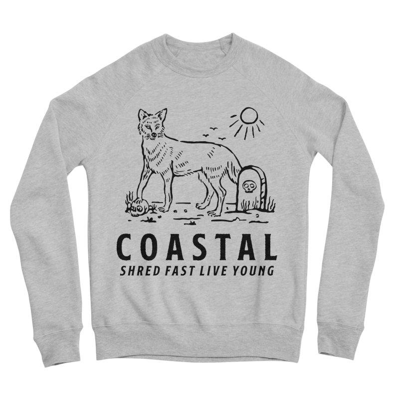 Coastal Fox Men's Sponge Fleece Sweatshirt by Broken & Coastal