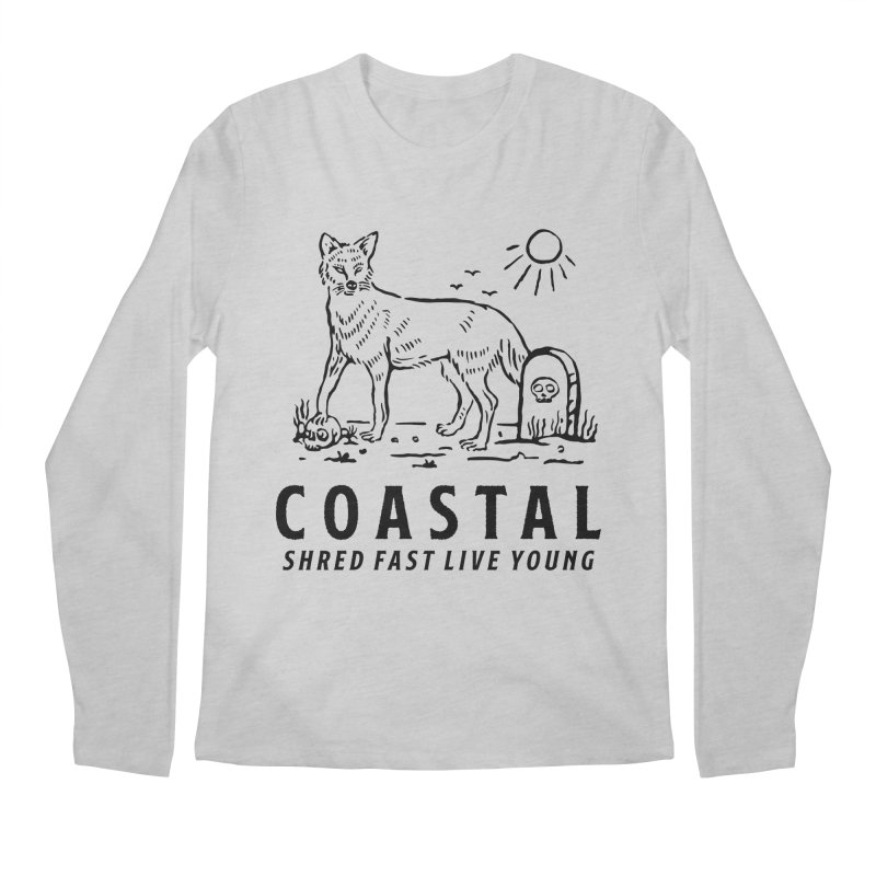 Coastal Fox Men's Regular Longsleeve T-Shirt by Broken & Coastal