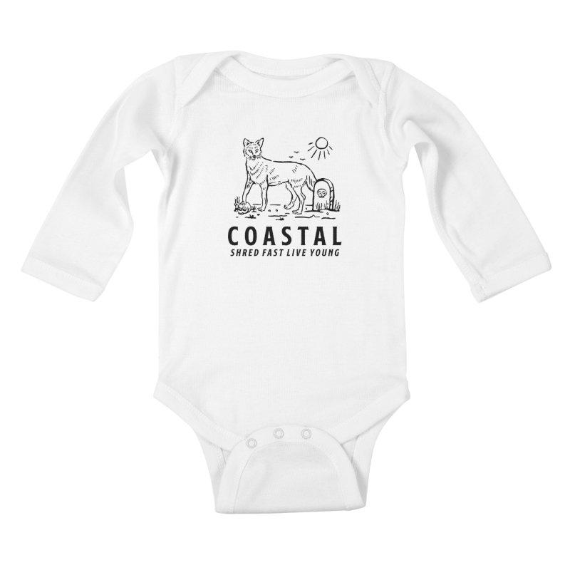 Coastal Fox Kids Baby Longsleeve Bodysuit by Broken & Coastal