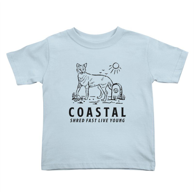 Coastal Fox Kids Toddler T-Shirt by Broken & Coastal