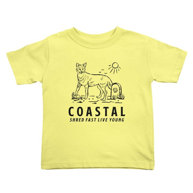 Coastal Fox Kids Toddler T-Shirt by Broken & Coastal