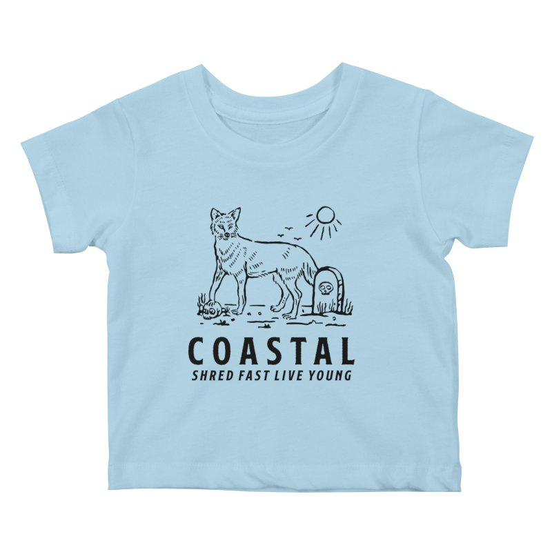 Coastal Fox Kids Baby T-Shirt by Broken & Coastal
