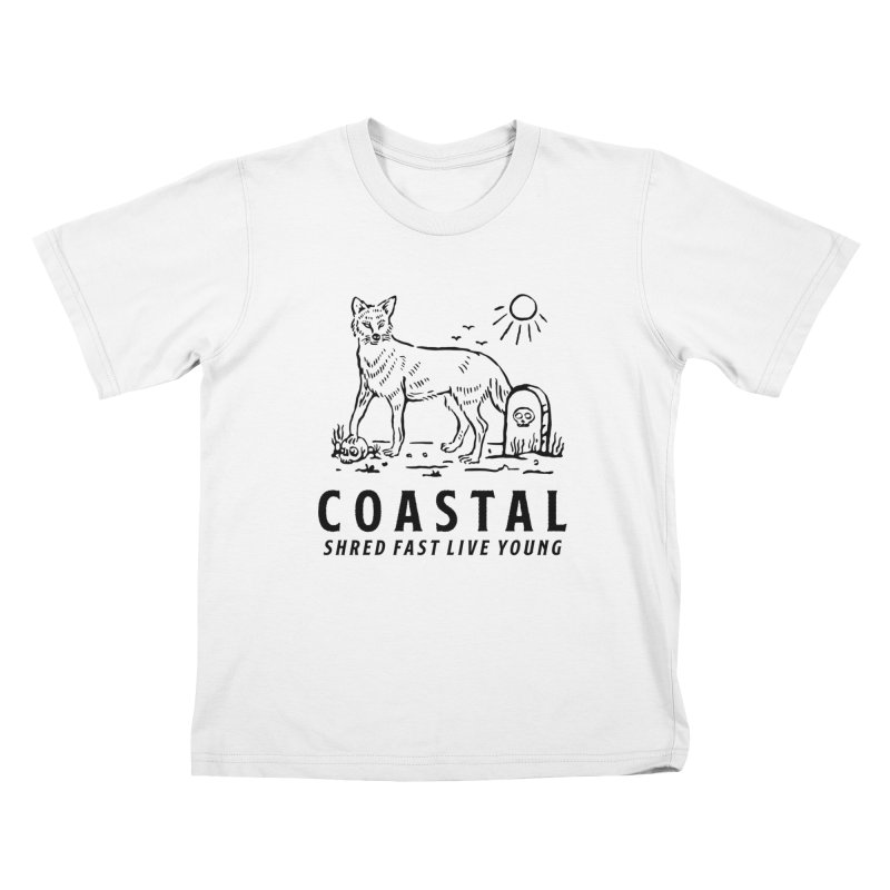 Coastal Fox Kids T-Shirt by Broken & Coastal