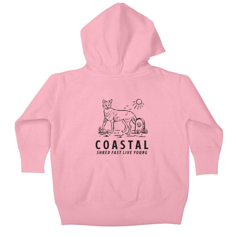 Coastal Fox Kids Baby Zip-Up Hoody by Broken & Coastal