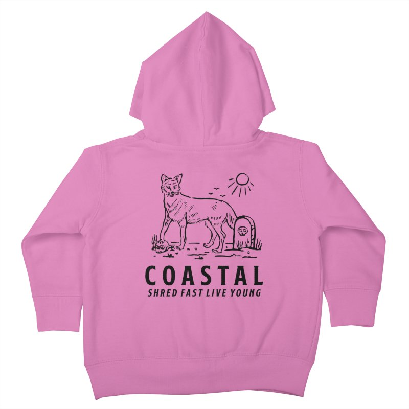 Coastal Fox Kids Toddler Zip-Up Hoody by Broken & Coastal