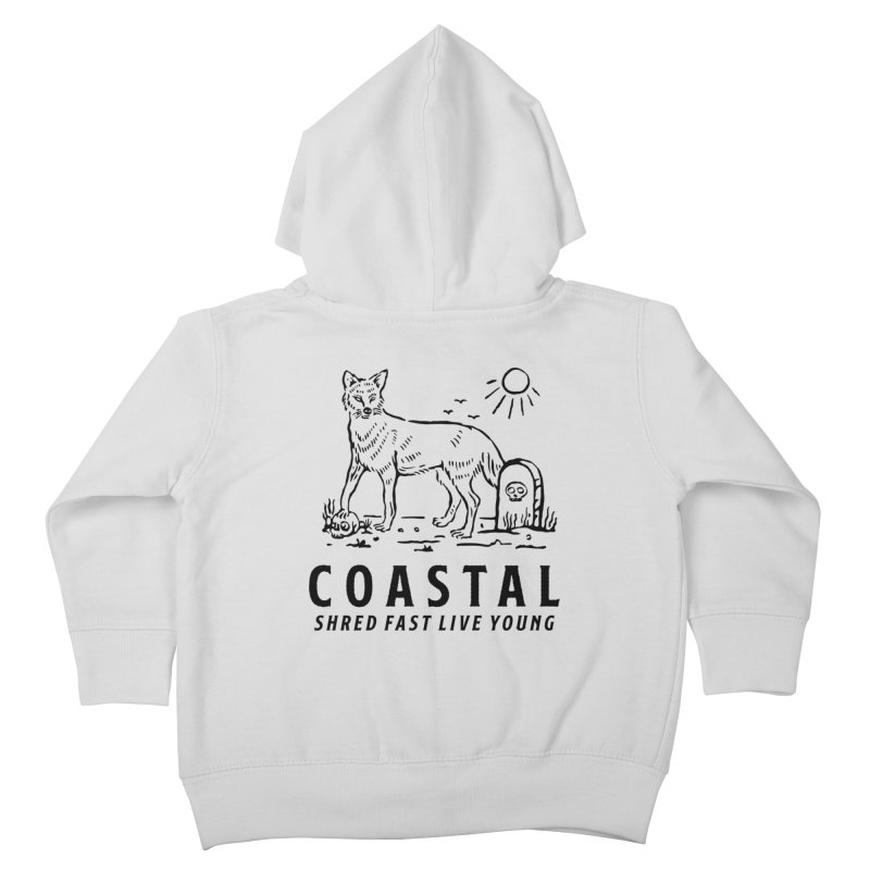 Coastal Fox Kids Toddler Zip-Up Hoody by Broken & Coastal