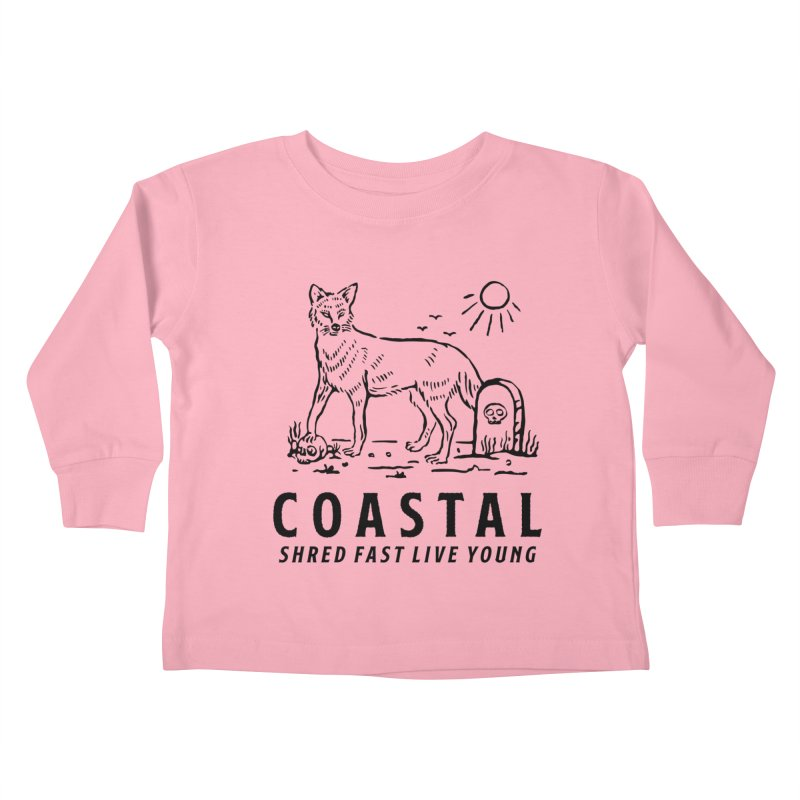 Coastal Fox Kids Toddler Longsleeve T-Shirt by Broken & Coastal