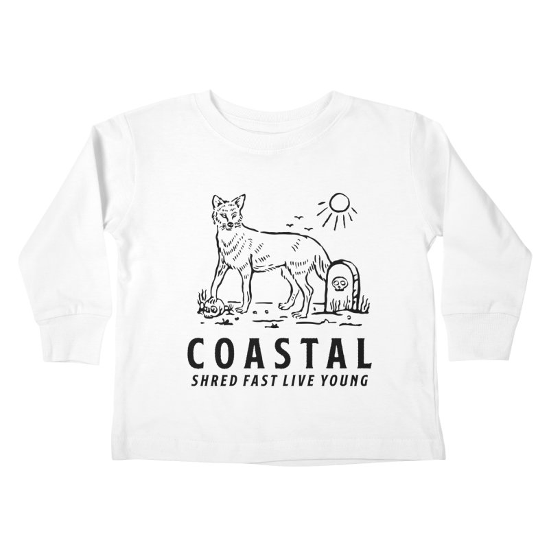 Coastal Fox Kids Toddler Longsleeve T-Shirt by Broken & Coastal