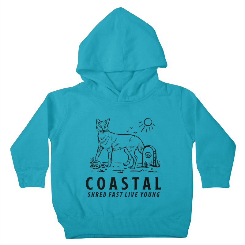 Coastal Fox Kids Toddler Pullover Hoody by Broken & Coastal