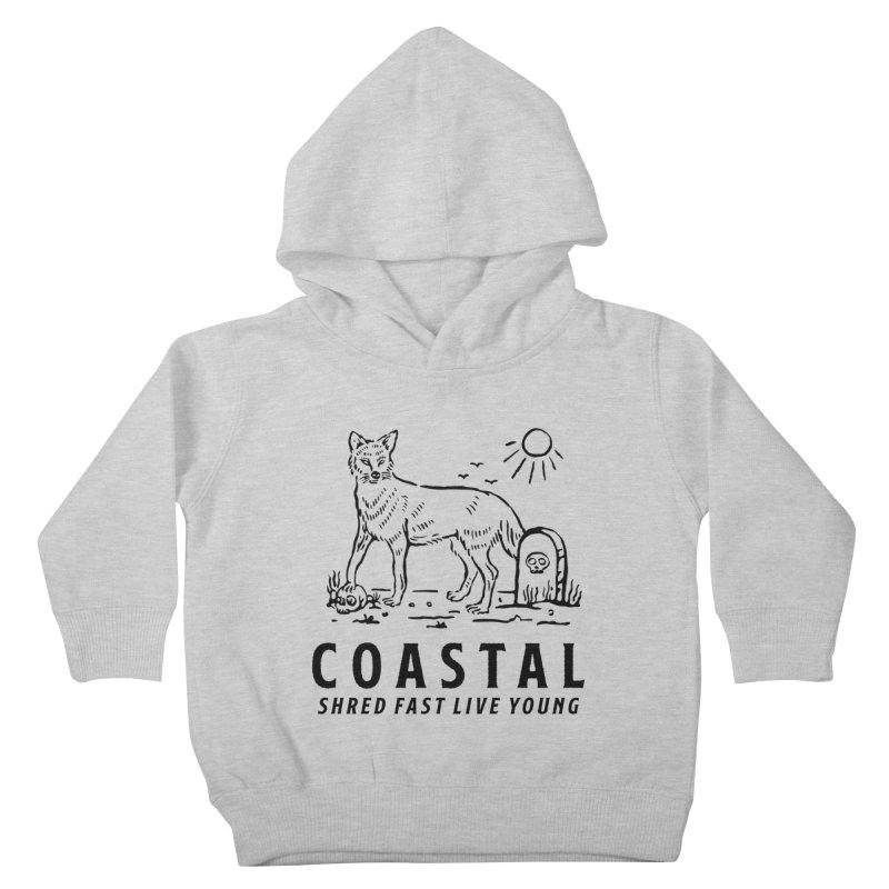 Coastal Fox Kids Toddler Pullover Hoody by Broken & Coastal