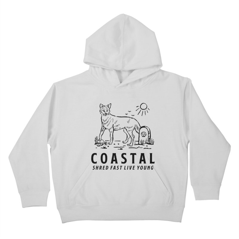 Coastal Fox Kids Pullover Hoody by Broken & Coastal
