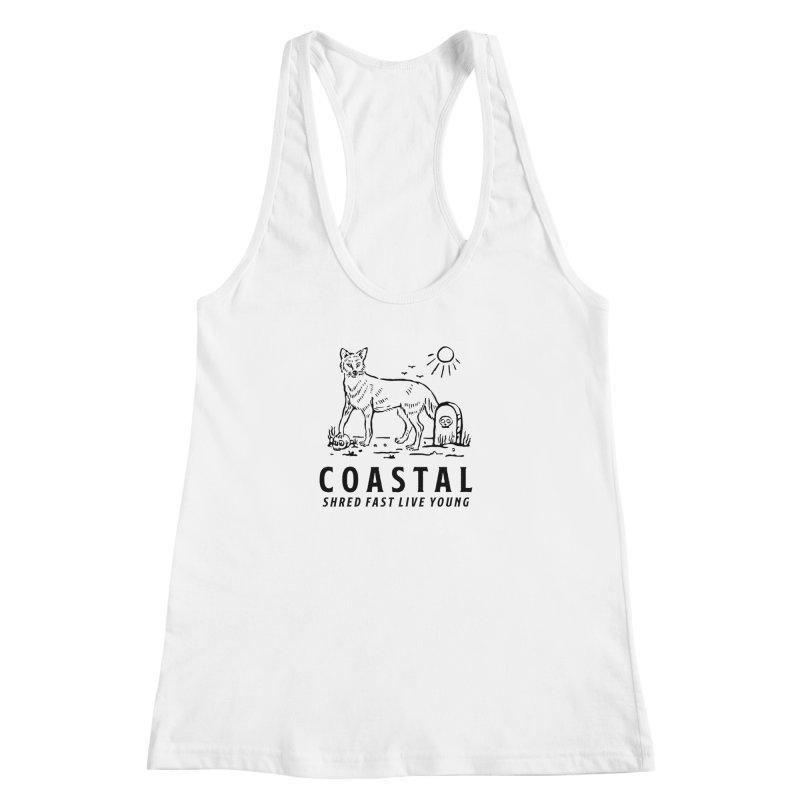 Coastal Fox Women's Tank by Broken & Coastal