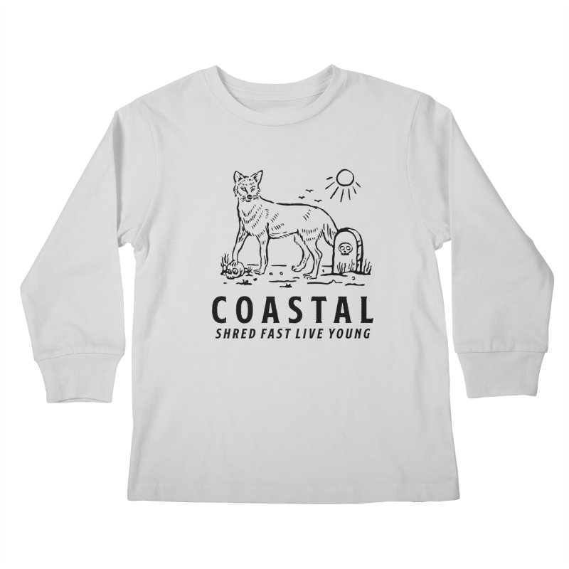 Coastal Fox Kids Longsleeve T-Shirt by Broken & Coastal