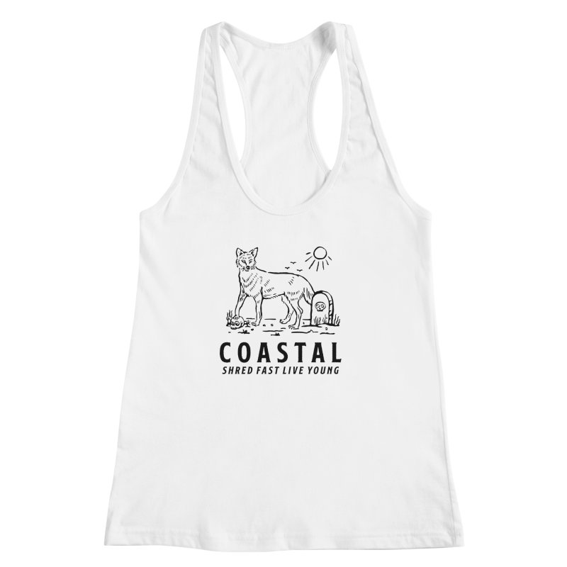 Coastal Fox Women's Racerback Tank by Broken & Coastal