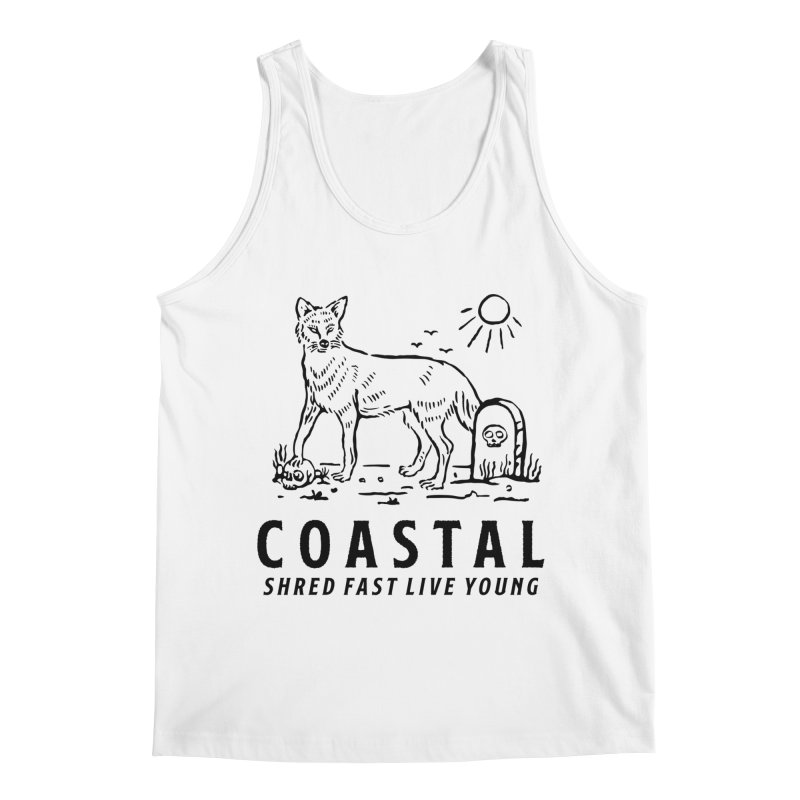 Coastal Fox Men's Regular Tank by Broken & Coastal