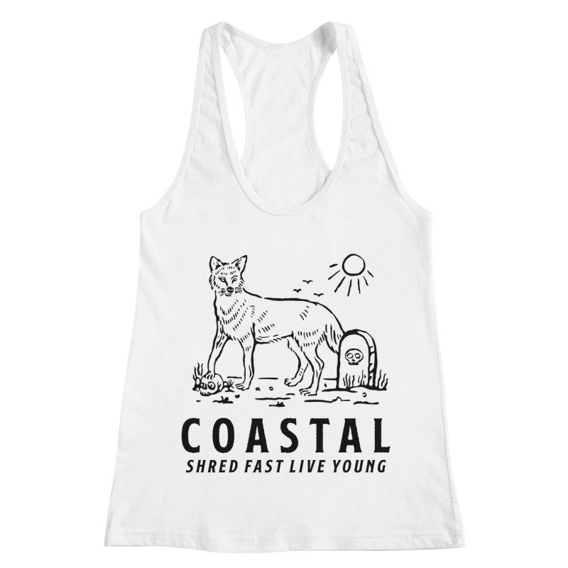 Coastal Fox Women's Racerback Tank by Broken & Coastal