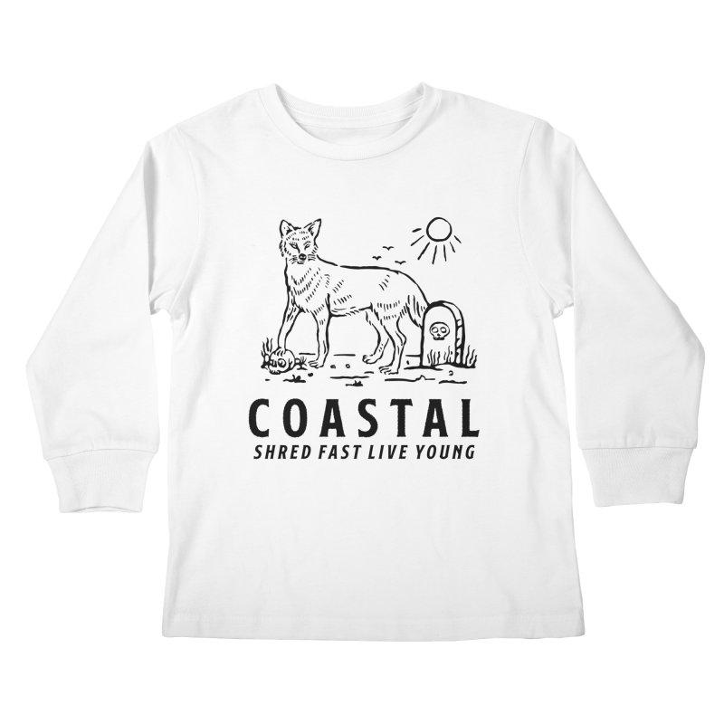 Coastal Fox Kids Longsleeve T-Shirt by Broken & Coastal
