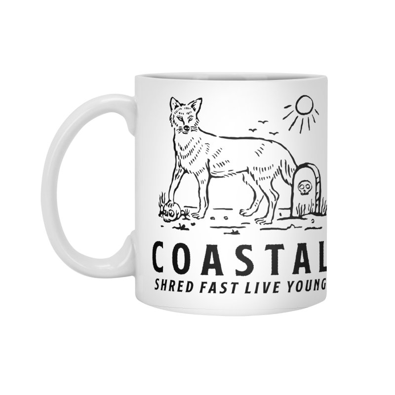 Coastal Fox Accessories Standard Mug by Broken & Coastal